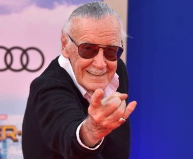 """HOLLYWOOD, CA - JUNE 28: Stan Lee attends the premiere of Columbia Pictures' """"Spider-Man: Homecoming"""" at TCL Chinese Theatre on June 28, 2017 in Hollywood, California. (Photo by Alberto E. Rodriguez/Getty Images)"""